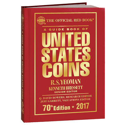 HURT Book Sale - 2017 Whitman Official RED BOOK 70th Ed Hardcover for US Coins