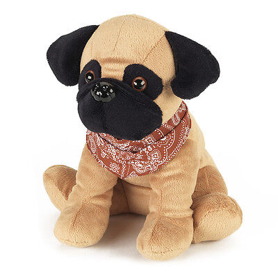 COZY PLUSH PETS Microwavable - heatable Pugsy The Pug Soft Scented toy INTELEX