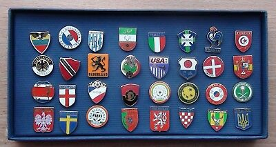 Complete set enamel pin FA - World Cup-2006