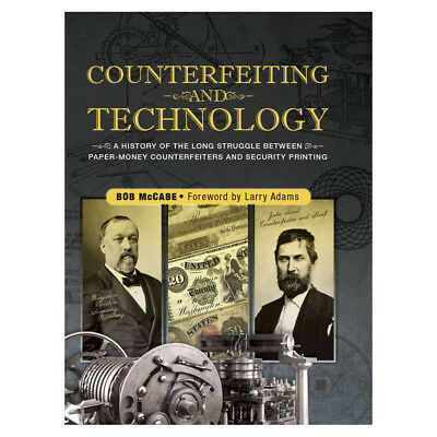 HURT Book Sale - Whitman COUNTERFEITING and TECHNOLOGY of Paper Money Hardcover