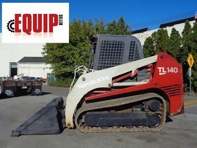 Takeuchi TL140 Skid Steer - Enclosed Cab - Auxiliary Hydraulics