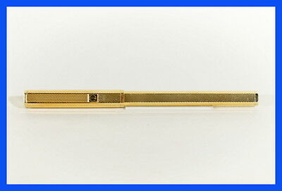 925 silver DUNHILL ball point pen, STERLING VERMEIL STERLING high end 1980