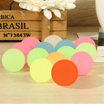 40mm Bouncy Jet Balls Birthday Party Loot Bag Luminous Light Ball Fun For Kids