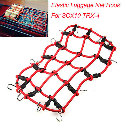 Elastic Luggage Net with Hook For Axial SCX10 TRX-4 RC4WD D90 1/10 RC Crawler