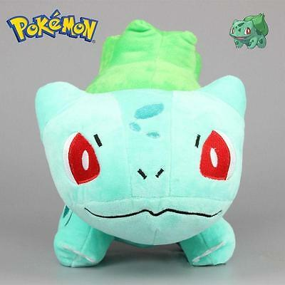 New HOT Pokemon Bulbasaur Plush Soft Toy Stuffed Anime Doll Teddy 6'' Kids Gift*