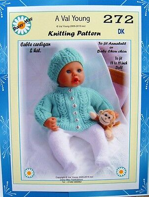CAROL ANN Designs Doll Knitting Patterns Numbers *1 to *29 (Baby ...