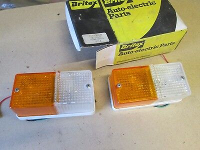 Ford /case/international Tractor /britax Side And Flasher Combination Lamp Nos