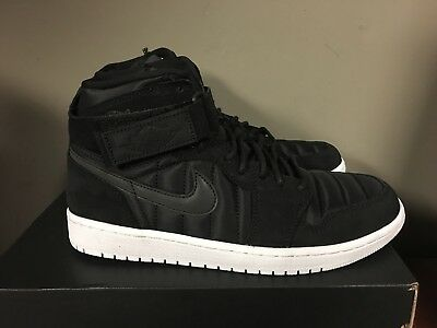 6efa51b70d8b Air Jordan 1 High Strap Black Pure Platinum Padded Pack 342132-004 New 2017