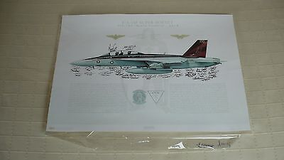 "VFA-154 ""Black Knights"" Lithograph Poster Original"