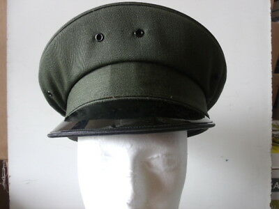 Uniform Round Hat - Dark Green - Lancaster Brand 100% WOOL Size 6 3/4 (A927)