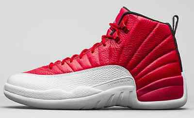 9dec12624df09a Nike Air Jordan XII Retro 12 Alternate Gym Red Cherry White 130690-600  AUTHENTIC