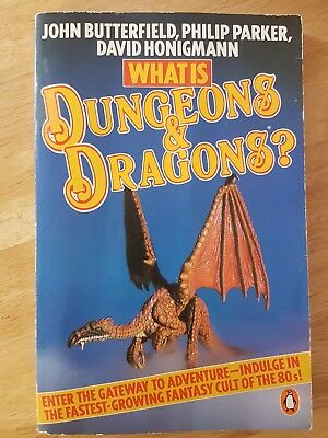 Paperback Book Guide What Is Dungeons and Dragons? D&D AD&D Butterfield Parker