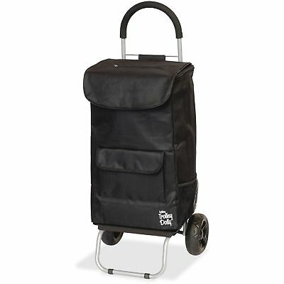 "dbest products Shopping Trolley Dolley Beverage Holder 15""x13""x38"" Black 01517"