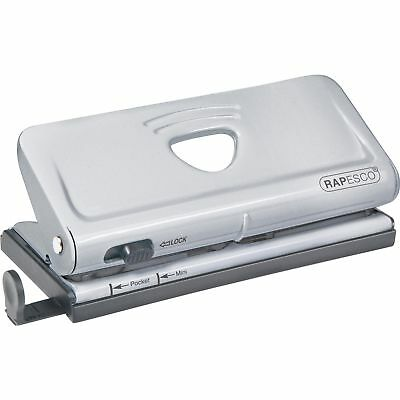 "Rapesco Office Products 6-Hole Punch 10-sheet 4-3/4""x8-1/2""x1-3/10"" SR 1344"