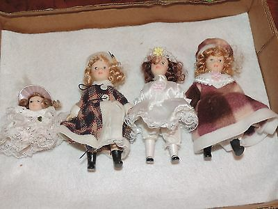 Vintage Baby Doll Lot Porcelain (e887)