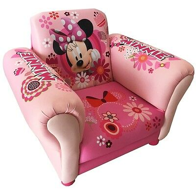 Minnie Mouse Upholstered Chair, Kids Bedroom / Playroom Disney Armchair