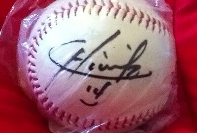 Chicharito Javier Hernandez Real Madrid Player Autographed  Unique Baseball