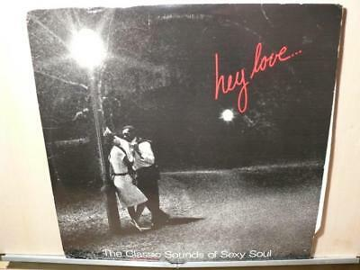 Hey Love: The Classic Sounds Of Sexy Soul (strongVG 3LP set) Oldies