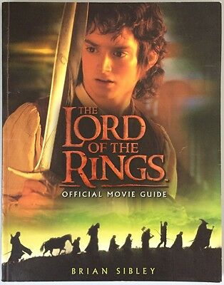 The Lord Of The Rings Official Movie Guide - Brian Sibley - 2001 Paperback