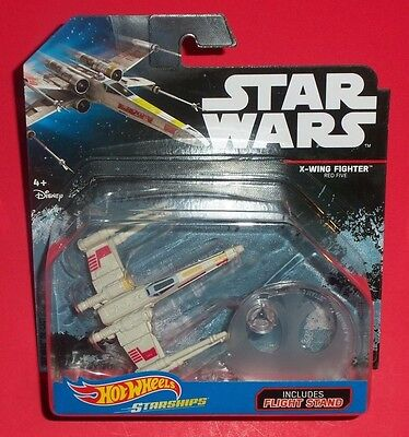 Hot Wheels Star Wars - New - Red Five X-Wing Starfighter