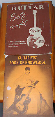 Guitar Self-taught + Guitarists' Book Of Knowledge Ed Sale USED