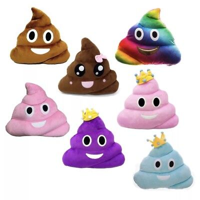 Cute 13 inch Poop Poo Family Emoji Emoticon Plush Toy Pillow Stuffed High Qualit
