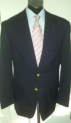 CHAPS by RALPH LAUREN 100% Wool Classic Blazer, size 42R. Made in CANADA.