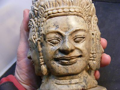 vintage asian stone  sculpture
