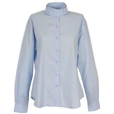 NEW On-Course Ladies Long Sleeve Show Shirt - White 32 & Blue 32, 34, 36, 38