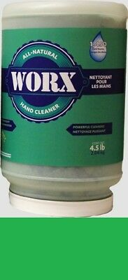 WORX HAND CLEANER, 4.5 LB. CONTAINER,ONLY 58.89/4.5lb. Container, FREE SHIPPING