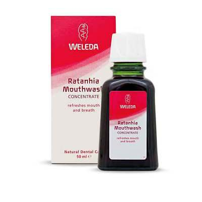 Weleda Ratanhia Mouthwash (50ml)  | BRAND NEW