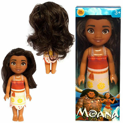 16cm Disney Moana Princess Adventure Collection Action Figure Doll With Box Toys