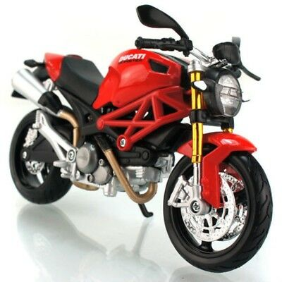 Ducati Monster 696 Motorbike Diecast Scale 1/12 New