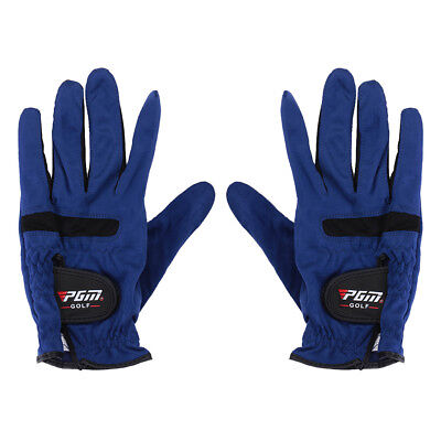 Men Golf Gloves Left & Right Hand Microfiber Durability Abrasion Glove