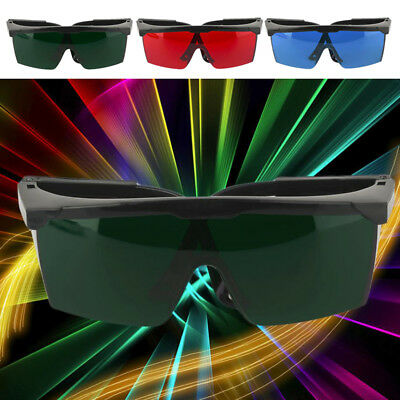 Laser Protective Safety Goggles Eye Protection Glasses Eyewear Storage Box