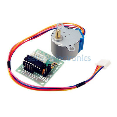 5V Stepper Motor 28BYJ-48 With Drive Test Module Board ULN2003 5 Line 4 Phase S