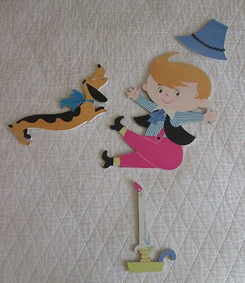 Vintage 1960 Dolly Toy Co. Jack Be Nimble Wall Decor