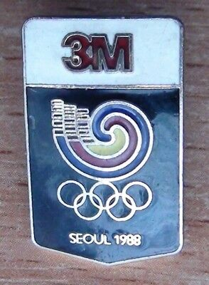 Olympic games 1988, Seoul, sponsor pins