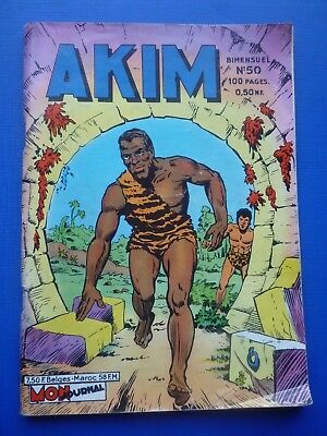 Editions MON  JOURNAL  :  AKIM  N° 50   -  1961  -  TBE