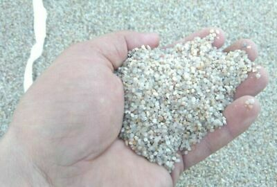 15 KG LIGHT SILICA GRAVEL SAND AQUARIUM SUBSTRATE 1-3mm 100% NATURAL WHITE