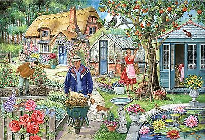 The House Of Puzzles 1000 PIECE JIGSAW PUZZLE In The Garden Find The Differences