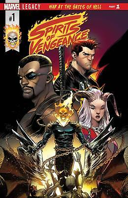 Spirits Of Vengeance #1 (Of 5) (2017) 1St Printing Bagged & Boarded Ghost Rider