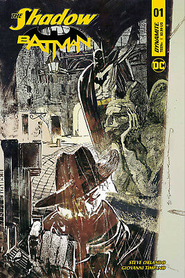 The Shadow Batman #1 (Of 6) (2017) 1St Printing Sienkiewicz Variant Cover F