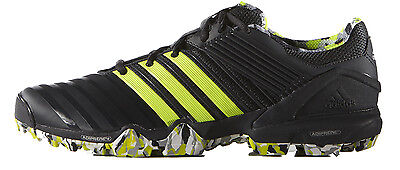 Adidas Adipower Hockey 2.0 Hockey Shoe for Adult (Grey/Yellow)