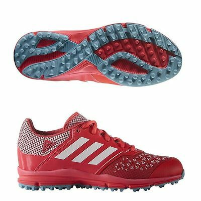 Adidas Zone DOX Hockey Shoes Outdoor for Adult (Red)