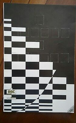 "Theatre Programme / Rsc 1990 / ""the Comedy Of Errors"" / William Shakespeare"