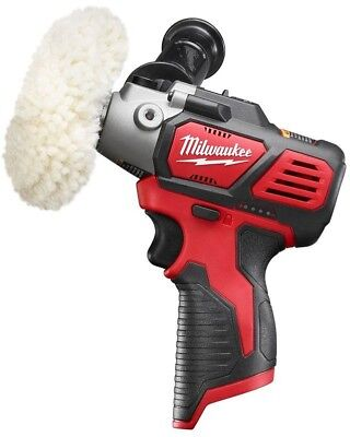 Milwaukee Cordless Variable Speed Polisher/Sander Fuel Gauge 5 Pc Accessory Pack