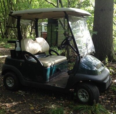 Green Clubcar President Golf Buggy Electric 48v