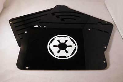 2 Layer Template Tray with Lid. Compatible with Star Wars X-Wing Miniatures Game