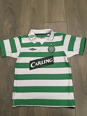 Celtic Home Shirt 2004/05 Youth M Balde 6 BNWT Rare And Vintage